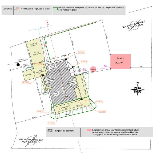 Plan de masse PCMI2