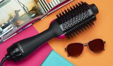 These Hybrid Hair Brushes Dry And Style Your Locks at The Same Time