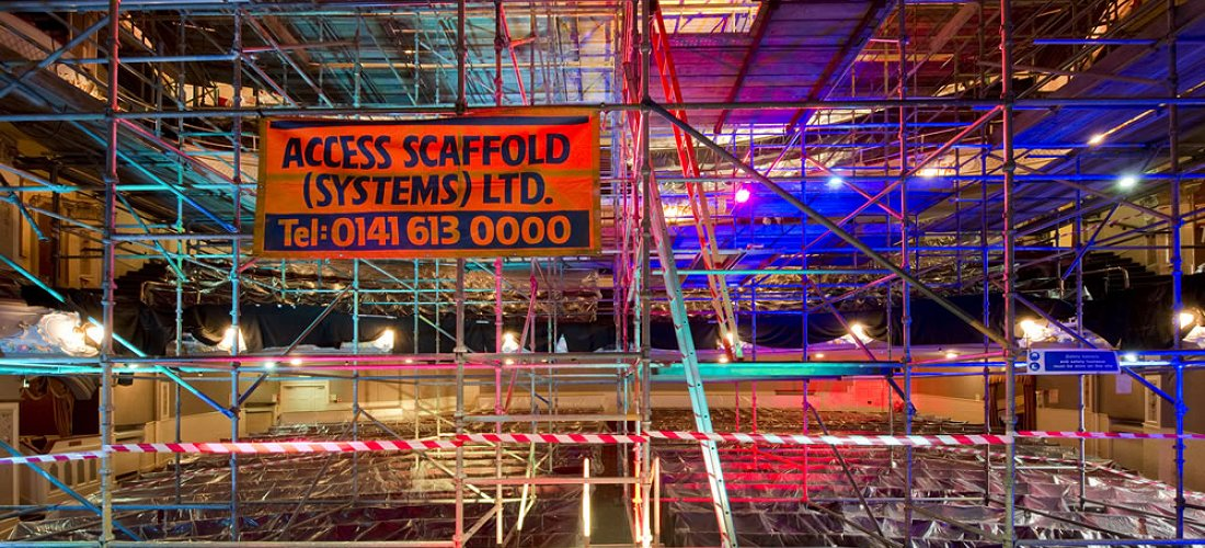Access Scaffolding - known and trusted