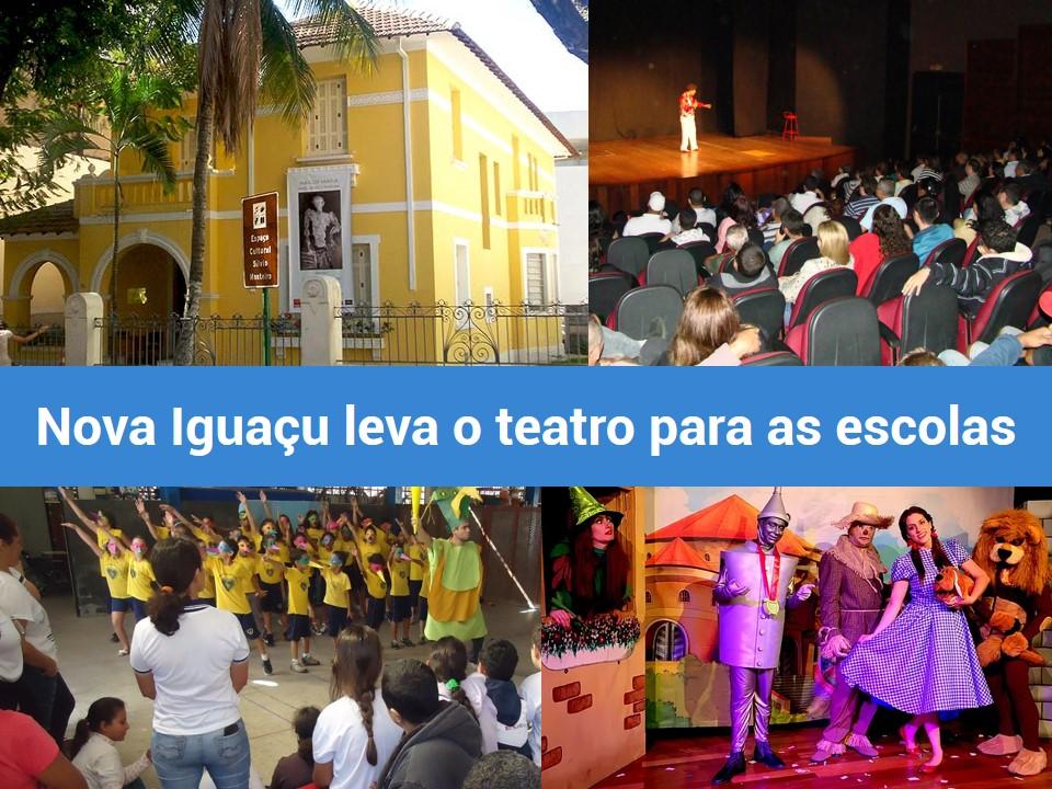 Aprenda em Nova Iguaçu tudo sobre teatro