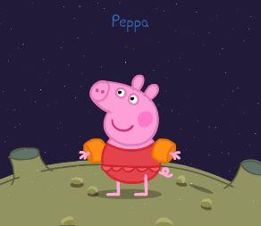 Un Bello Poster de Peppa Pig