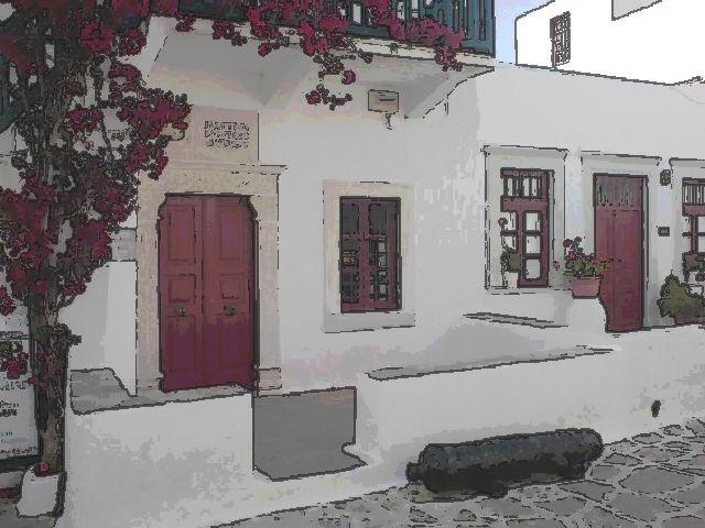 Nautical Museum or Aegean Maritime Museum, Mykonos town, Mykonos, Greece