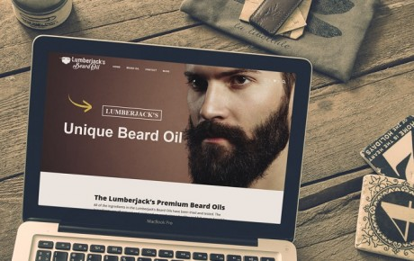 Lumber Jacks Beard Oil - Web Design & Development