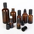 瓶避光滚珠药油瓶走珠空瓶便携精油滚珠瓶 未南茶色玻璃精油分装