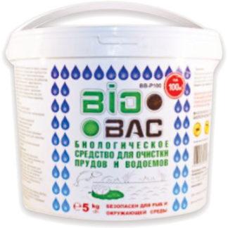 BIOBAC для очистки прудов 5 кг - на 100 м³ воды