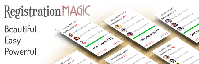 registrationmagicپلاگین