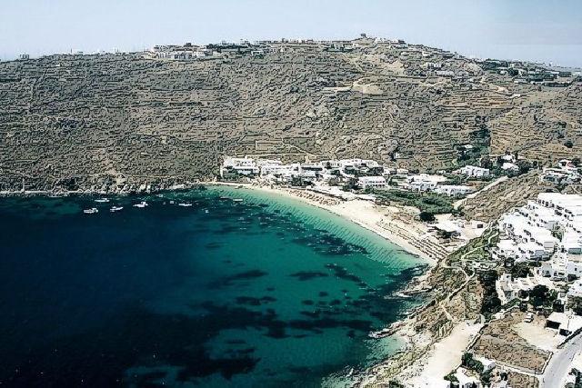 Psarou Beaches, Mykonos, Greece