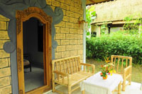 Classic Balinese bungalow