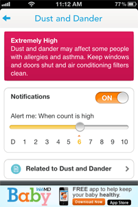 WebMD Allergy App Screenshot 4