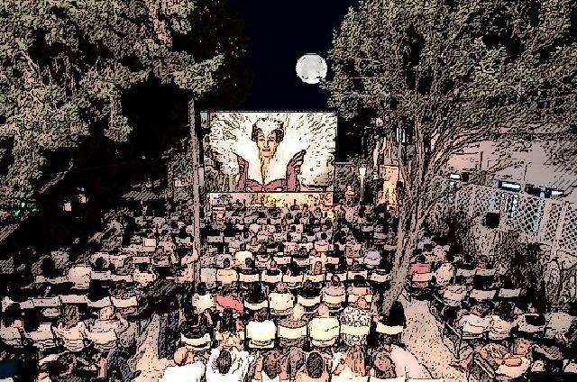 Summer Cinema, Mykonos town, Mykonos, Greece