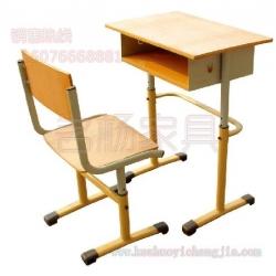 圆管可拆装升降式课桌椅
