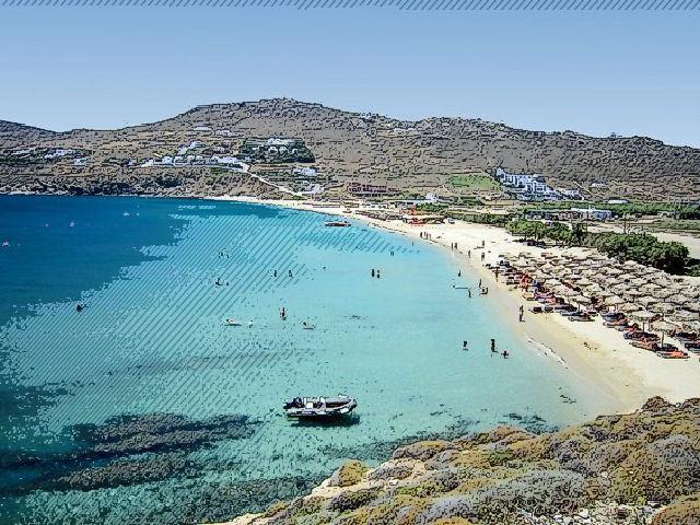 Kalafatis Beaches, Mykonos, Greece