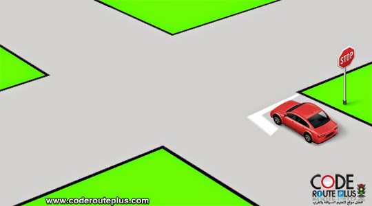 code rousseau maroc  قواعد الأولوية 2020 : شرح كامل - خاص بمدارس تعليم السياقة