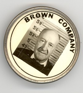 Brown Company badge