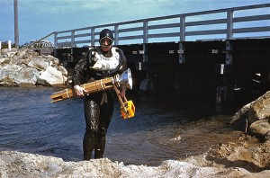 Underwater Stroboscope TestingMartha's Vineyard 1950s