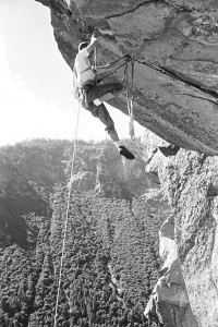 Tom Frost First Ascent The Roof Cathedral Rock July 1961
