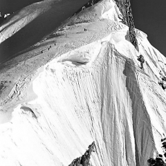 Mt. Maudit French Alps 1962