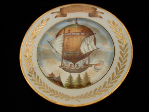 French china, 1783 flight