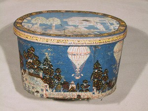 1790 hat box, Clayton's Ascent