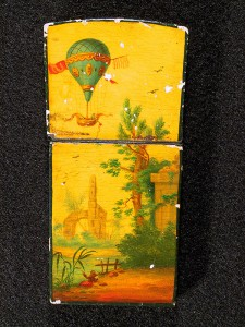 18th-century lacquer card case