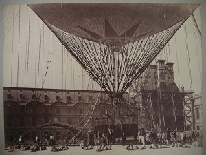 Photograph, Giffard's balloon, Paris 1878
