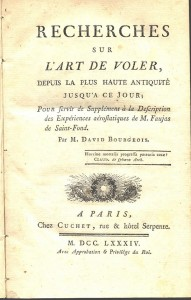 1784 treatise on flight