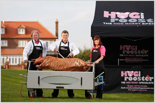 Most hog roast caterers
