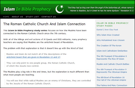 Islam And Muslims In Bible Prophecy