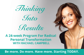 Thinking Into Results - Rachael Campbell
