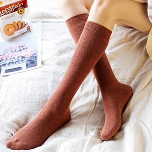 【3双】长筒袜子冬季超厚堆堆袜