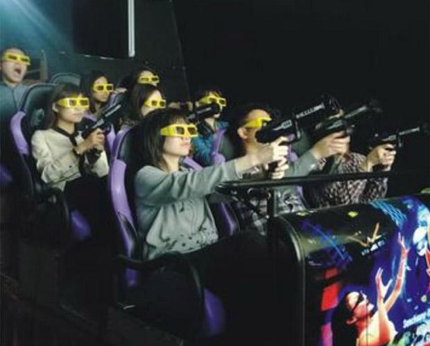 海啸7D多人对战互动影院