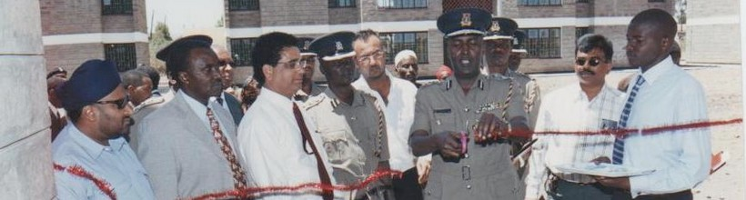 Opening of Rongai police lines by Inspector-General Ali