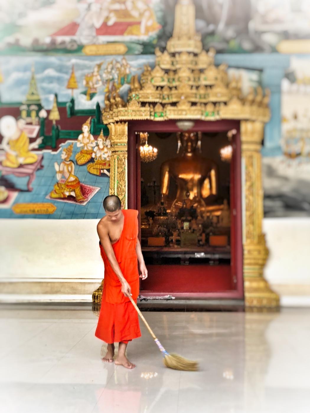 Vientiane Mönch