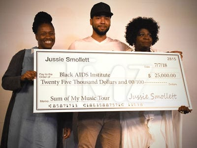 'Empire' Star Jussie Smollett Donating Over $125,000 to Charities Ahead of Holidays