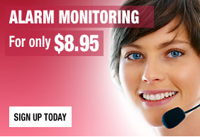 Alarm Monitoring Only $8.95