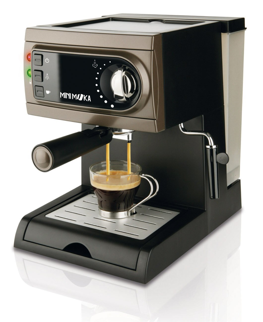 Opcion 2 cafetea Moka express manual