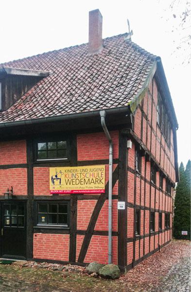 Ansicht der Kinder und Jugendkunstschule Wedemark