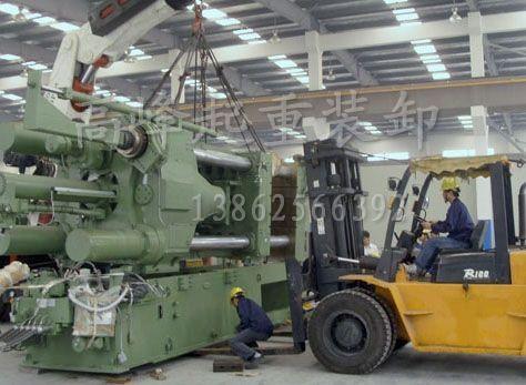 进口1200压注机组装