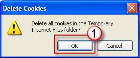 In the Delete Files dialog box, click to select the Delete all offline content check box, and then click OK