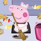 Peppa Pig limpieza del hogar
