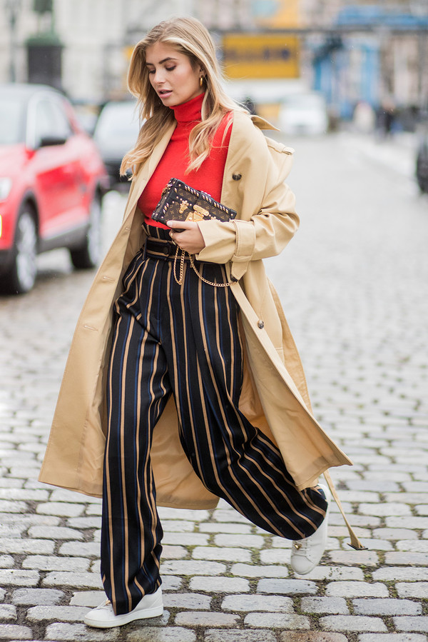 How to wear your high-waisted trousers 7