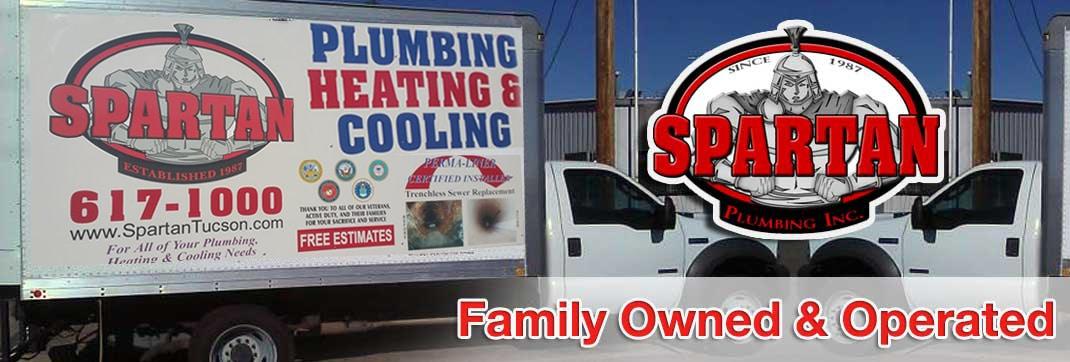 Spartan Plumbing, Heating & Cooling Truck