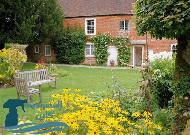 افكار لتصميم الحدائق المنزلية