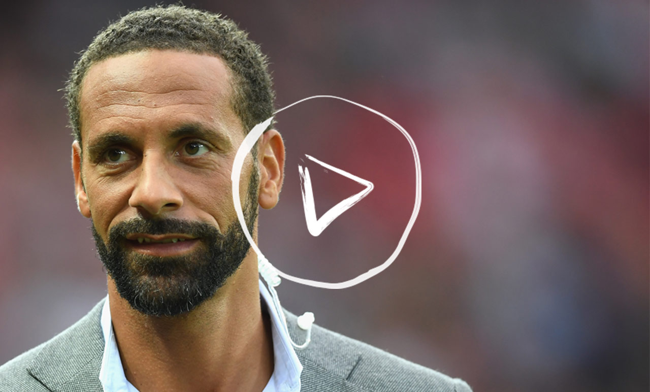 Rio Ferdinand on the importance of talking about your emotions