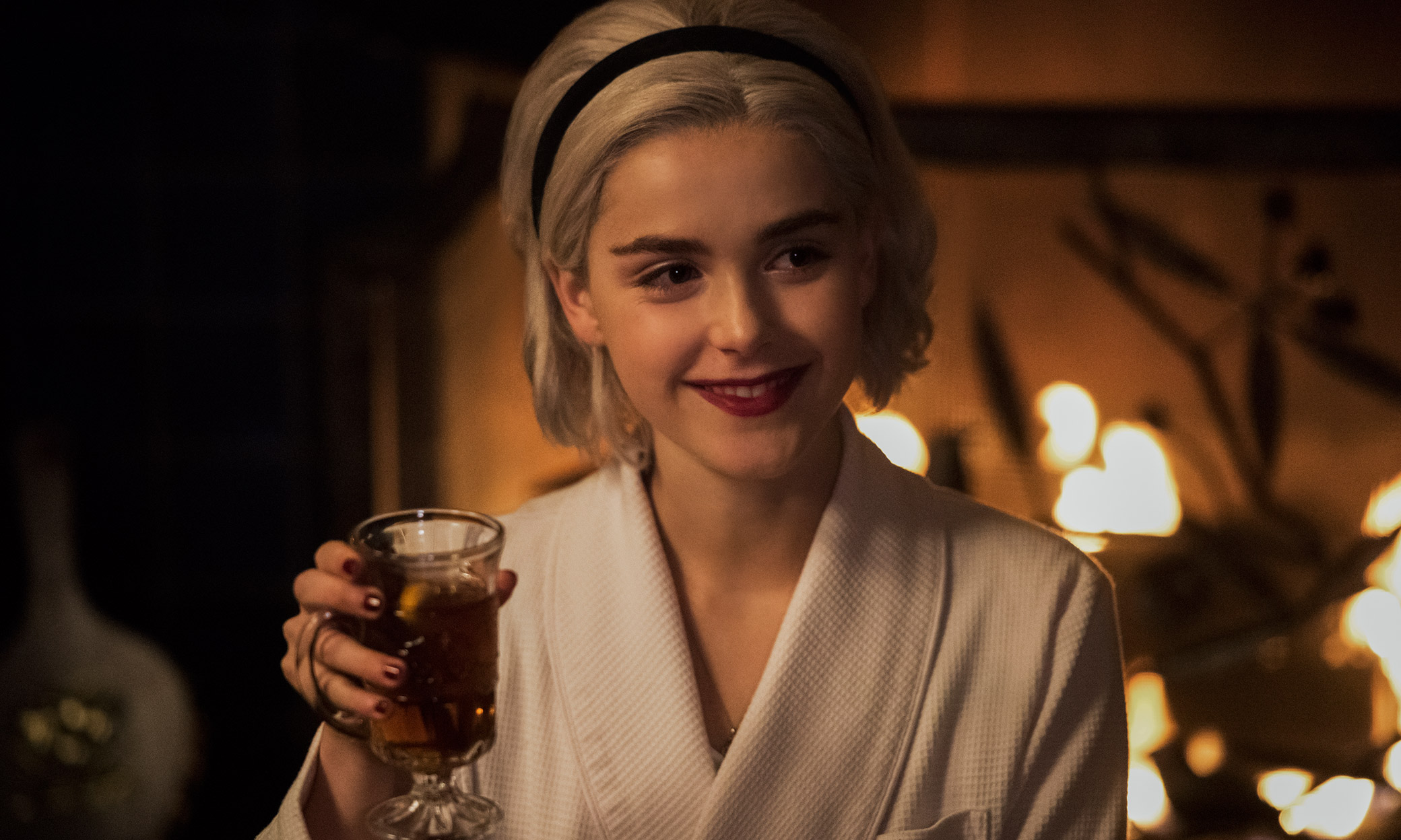 watch The Chilling Adventures Of Sabrina. Netflix this weekend 1