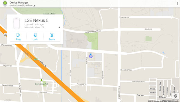 Android Device Manager Now Available in Play Store