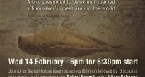 Night Parrot Stories screening and discussion – 14th Feb, 2018.