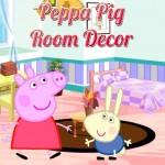 Peppa Pig Decorando Habitación Arreglar Recamara