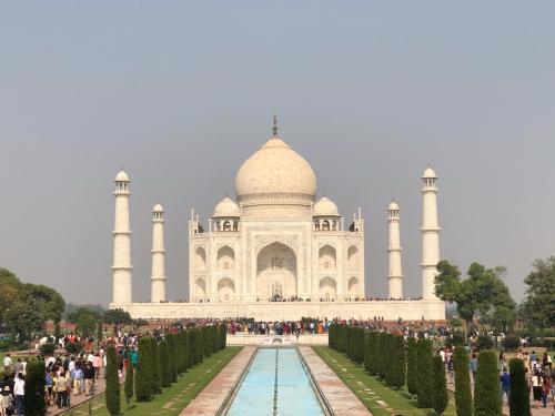 Agra und das legendäre Taj Mahal