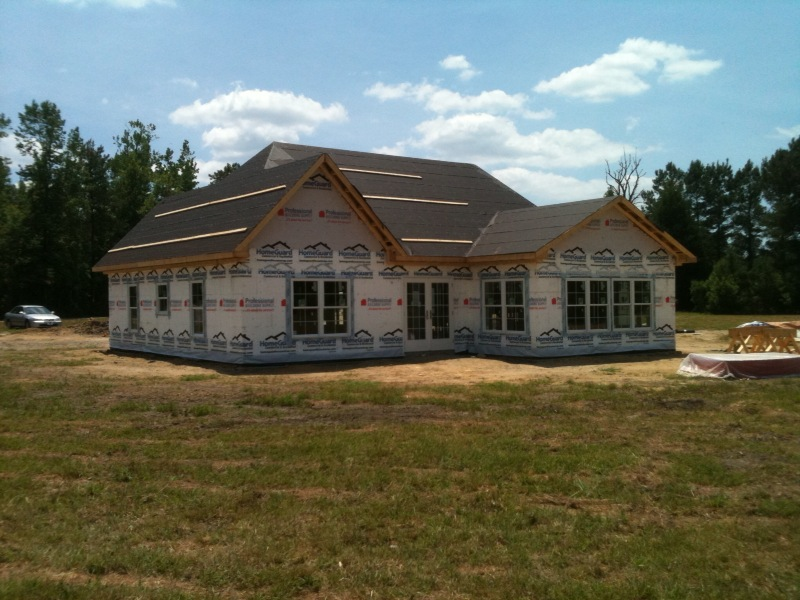 Non-Hectic ICF Home Plans Supporting Your Modern Lifestyle With No Faults : Stunning White Exterior Traditional ICF Home Plans Design Ideas